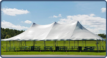 Pole Tent Rental from Main Event Tents